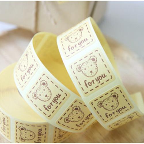 Упаковочные этикетки Bakery Stickers DIY Hand Made Sticker упаковочные этикетки 500 5