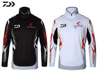 ブランド新しい2015ダイワプロの屋外スポーツ釣り男性用服/女性抗uvクイック- 乾燥釣り用の服シャツ