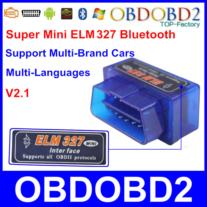Гаджет  Top Selling OBD2 /OBDII Blue Scanner ELM 327 Car Diagnostic Works On Android Symbian Windows In Stock OBD2 ELM327 Bluetooth None Автомобили и Мотоциклы