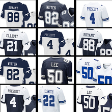 men's 2016 #4 Dak Prescott 9 Tony Romo 22 Emmitt Smith #50 Sean Lee #82 Jason Witten #88 Dez Bryant #21 Ezekiel Elliott(China (Mainland))