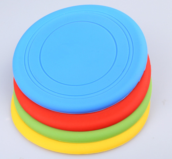 1PC Dog Frisbee Flying Disc Tooth Resistant Outdoor Large pet Dog Training Fetch Toy(China (Mainland))