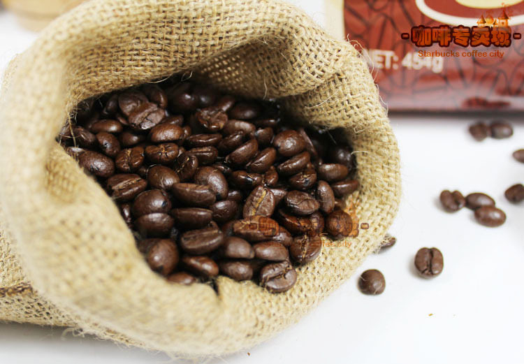 Grade A mocha moderate roasting coffee beans 454 g free shipping