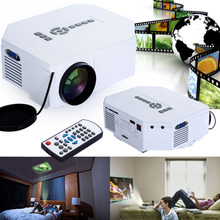 New Promotion Mini 1080P Home Theater Projector UC30 LED Full HD HDMI 3D Multimedia Player Support 23 language With AU Plug(China (Mainland))