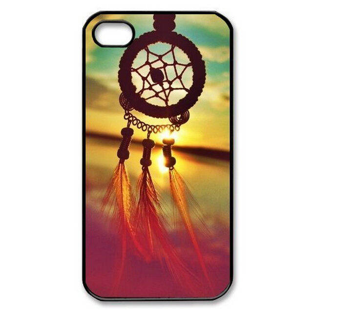 Wholesale 2014 New Original Change Dream Catcher Campanula Design Style Hard Plastic Shell Phone Case Cover For Iphone 5 5S(China (Mainland))