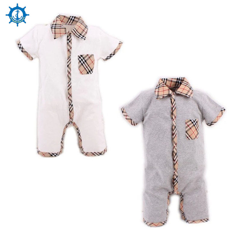 Summer Style Baby Boy Romper Newborn Baby Clothes pajamas New Born Baby Girl Clothing Ropa Bebe Children Toddlers Rompers HB022(China (Mainland))