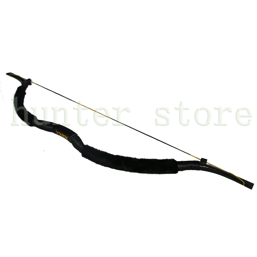 58 Traditional Recurve bow 20-50lbs with Draw length 29-33 Handmade Sheepskin &amp; Leather Archery Hunting and Shooting Longbow<br><br>Aliexpress