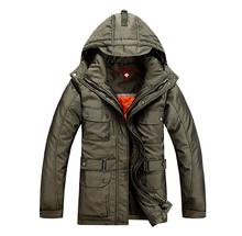 Free shipping!!! 2015 Fashion Men's Winter overcoat Down coat men Winter Down jacket 2 colors M-XXXL Wholesale