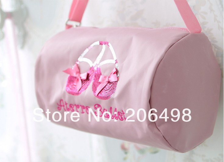pink girl ballet bag,girls makeup bag,kid haversack,kid's Acrobatics special package,Free freight - jackie Children's stores store