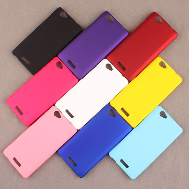 Hard Plastic Cell Phone Cases Shell Matte Back Cover Protector For Fly IQ4501 Evo Energie 4, High Quality,Freeshiping(China (Mainland))