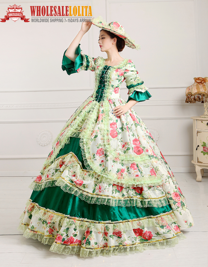 Popular marie antoinette wedding dress buy cheap marie for Period style wedding dresses