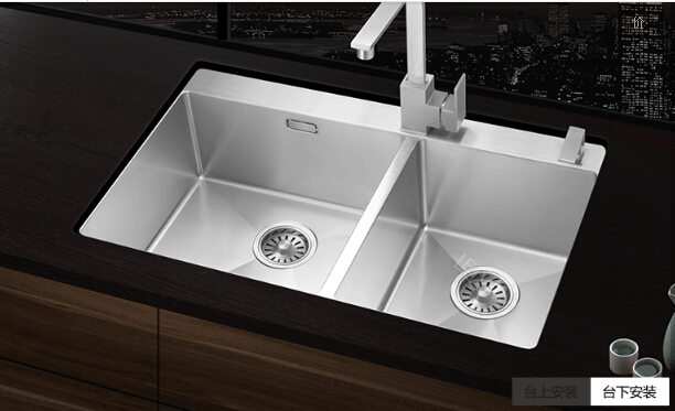 High quality s211 undermounted kitchen stainless steel for High quality kitchen sinks