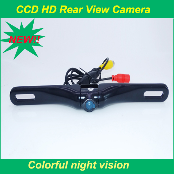 For different cars Wide Angle 170 Degrees colorful night vision car rear camera waterproof supply from stock free shipping(China (Mainland))