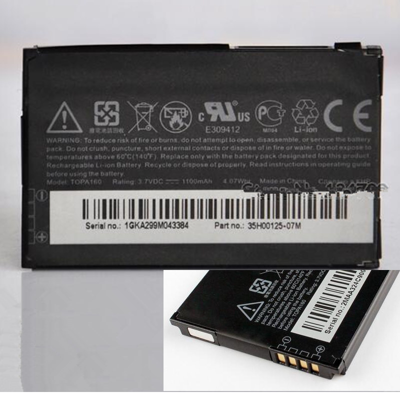 TOPA160 New Battery For HTC Touch Diamond 2 Touch 2 Smart Tattoo G4 T5353 T3333(China (Mainland))
