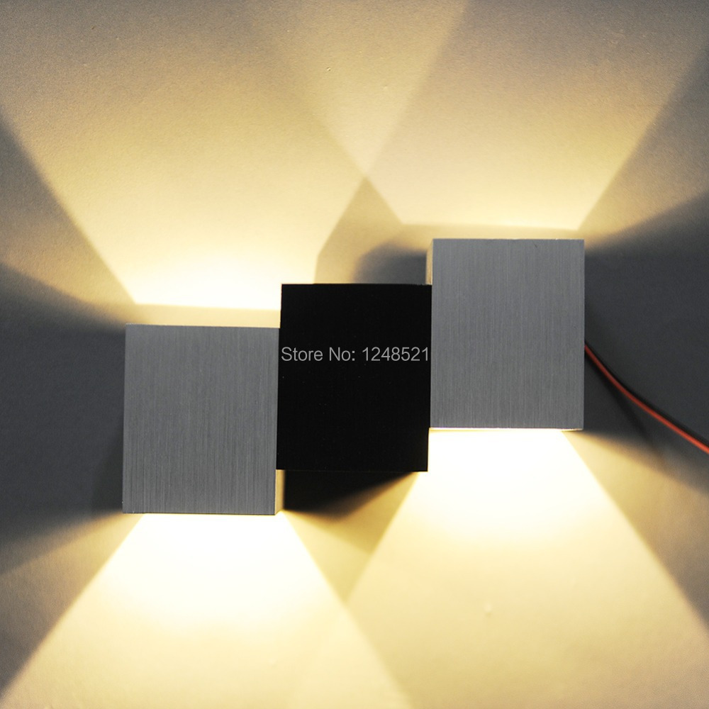Hot led wandlamp Aluminium 6 w Led slaapkamer Wandlamp moderne trap ...