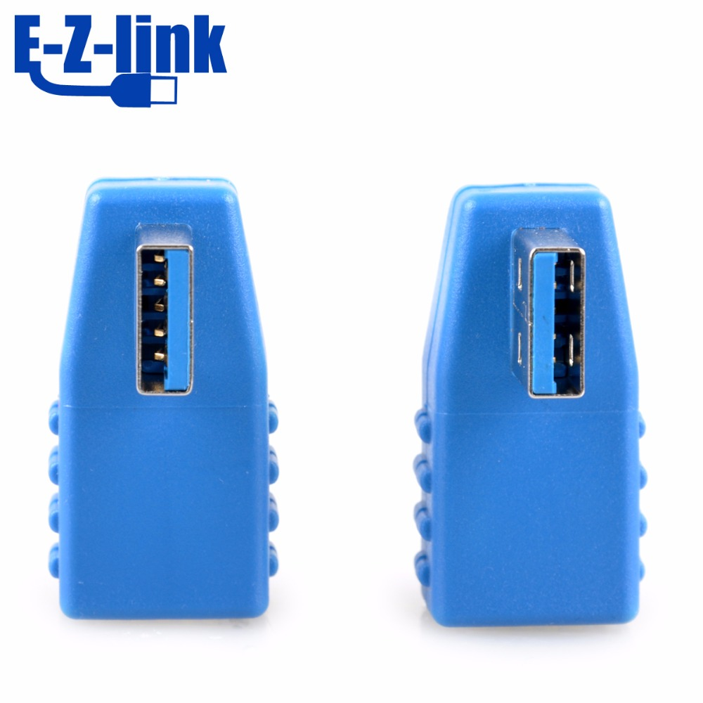 90 Degree Vertical Angle USB 3.0 Male to Female Adapter Converter USB 3.0 AM to AF Coupler Connector Plug wholesale LY-8005(China (Mainland))