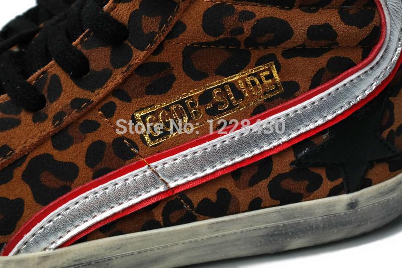 Golden Goose Glitter Leopard