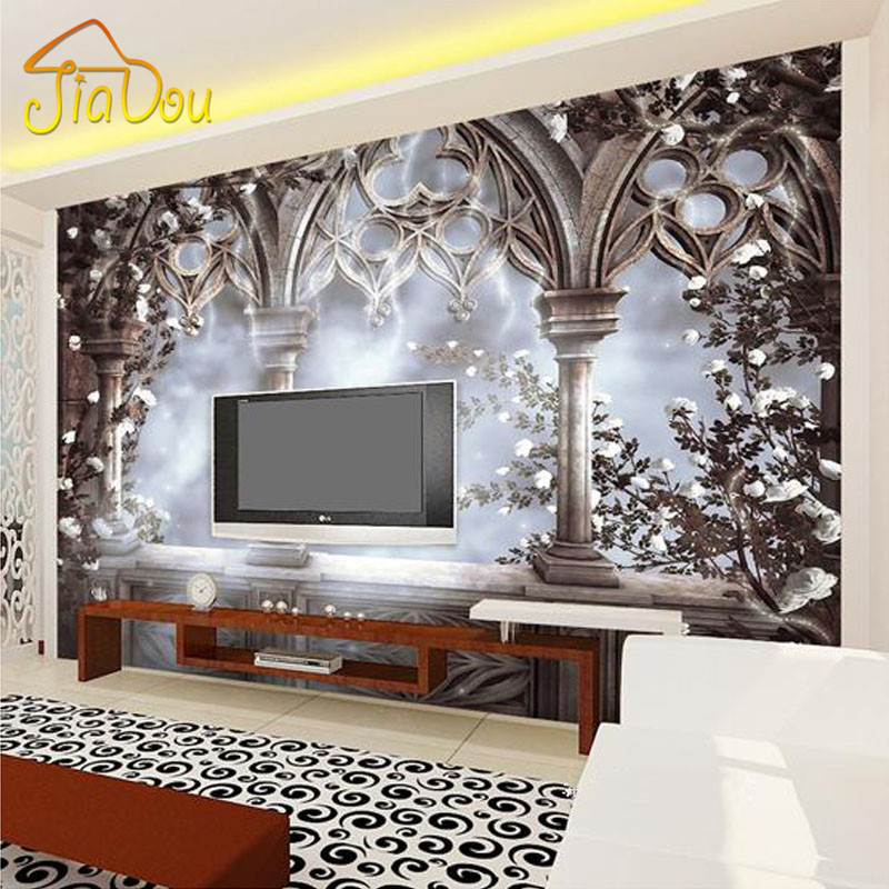 Buy custom 3d photo wallpaper european for Custom mural wallpaper