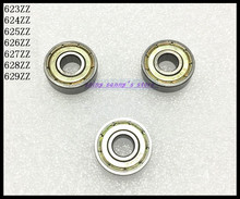 Buy 30pcs/Lot 624ZZ 624 ZZ 4x13x5mm Mini Ball Bearing Miniature Bearing Deep Groove Ball Bearing Carbon Steel Brand New for $6.78 in AliExpress store