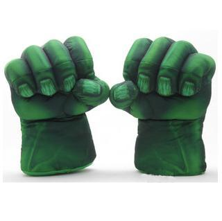 Plush Incredible Hulk Gloves 11 inch Superhero Figure Toys Children Christmas Kids Toy 1set - Forever 315 AC Club store
