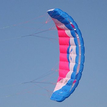 3.5 suqare meter  Four line Line Stunt  Power kite  hot sell kite surfing  kite boarding with handle and line  free shipping