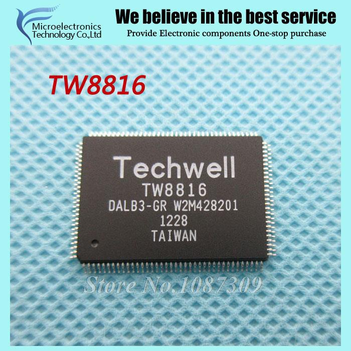 20PCS free shipping TW8816 DALB3-GR TW8816-DALB3-GR QFP-128 Display Drivers & Controllers LCD CHIP MCU new original(China (Mainland))