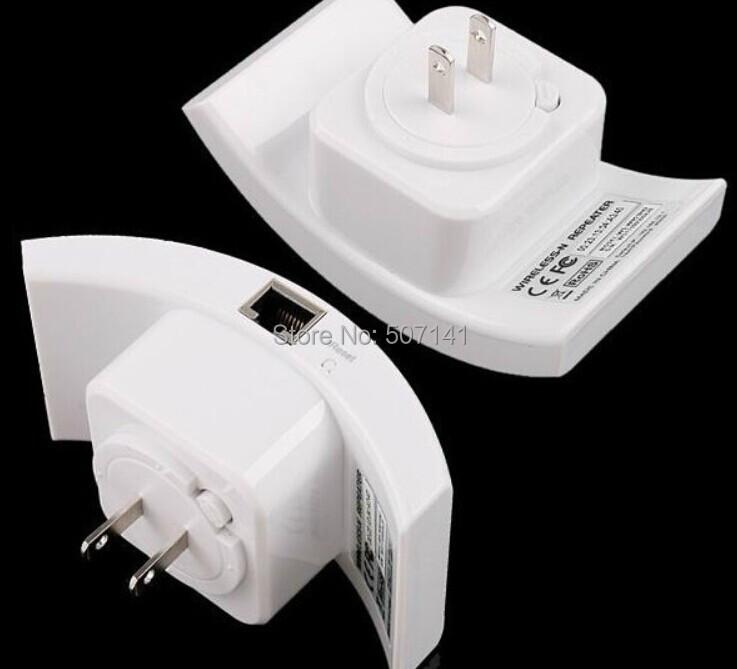 1 pcs--- brand new wireless- n repetidor wifi 802.11n/b/g roteador de rede gama expansor 300m 2 dbi antenas nos/eu/ua plug(China (Mainland))