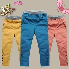 Fashion rabbit child down pants male female child trousers children baby liner warm and detachable(China (Mainland))