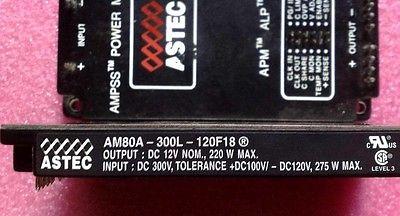 Фотография DHL/EMS 2 Sets NEW AM80A-300L-120F18 ASTEC AM80A300L120F18