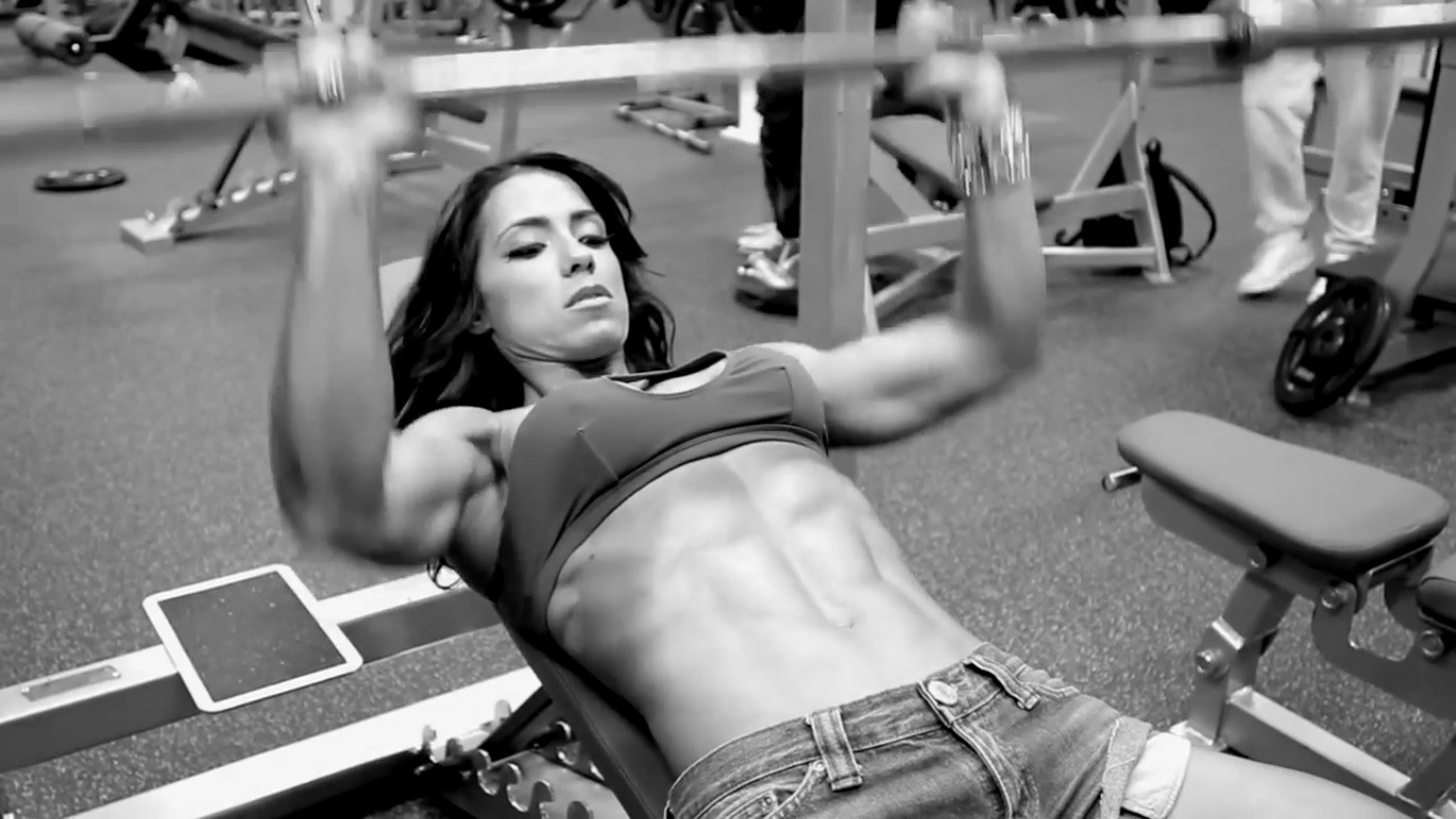 Gym lesbian wallpaper fucked image