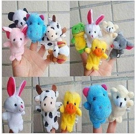 Free shipping 20pcs/lot  Children toys Soft Educational Plush Puppet Enormous Turnip Educational Story-telling Finger Toys