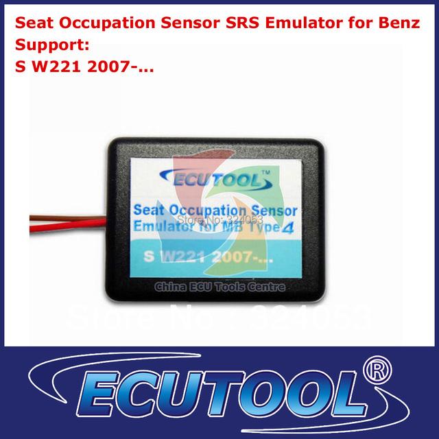 5pcs/lot Seat Occupancy SRS Sensor Emulator for Mercedes-Benz W221 Type 4 Airbag Light Resetter Repair Tool Free Shipping