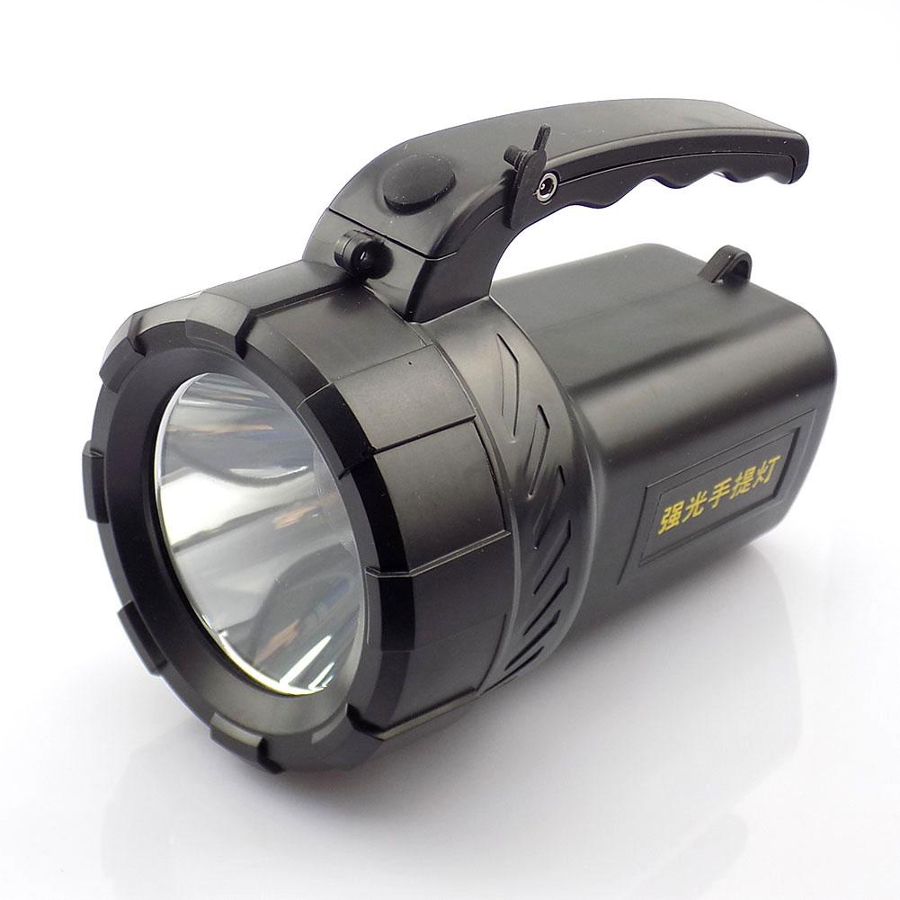 Protable led flashlight rechargeable hand searching light flash lamp Torch night working camping long range Lanterna Powerful(China (Mainland))