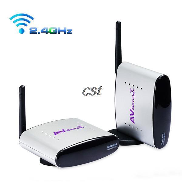 Wireless 150M 2.4GHz Audio Video AV Sender TV Transmitter+Receiver PAT-330 NEW(China (Mainland))