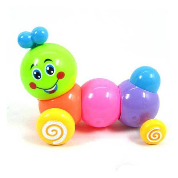 ChinaTrade Cute Baby Funny Kids Colorful Inchworm Twist Forward Movement Toy(China (Mainland))