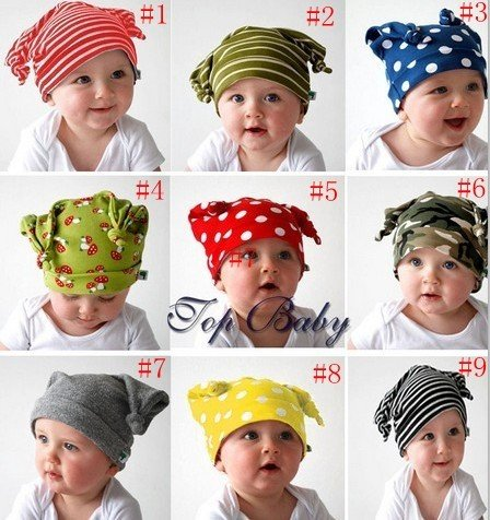 New arrive! Beanie autumn / winter Warm girls and boy baby outdoor cute infant hat 20pcs/lot<br>