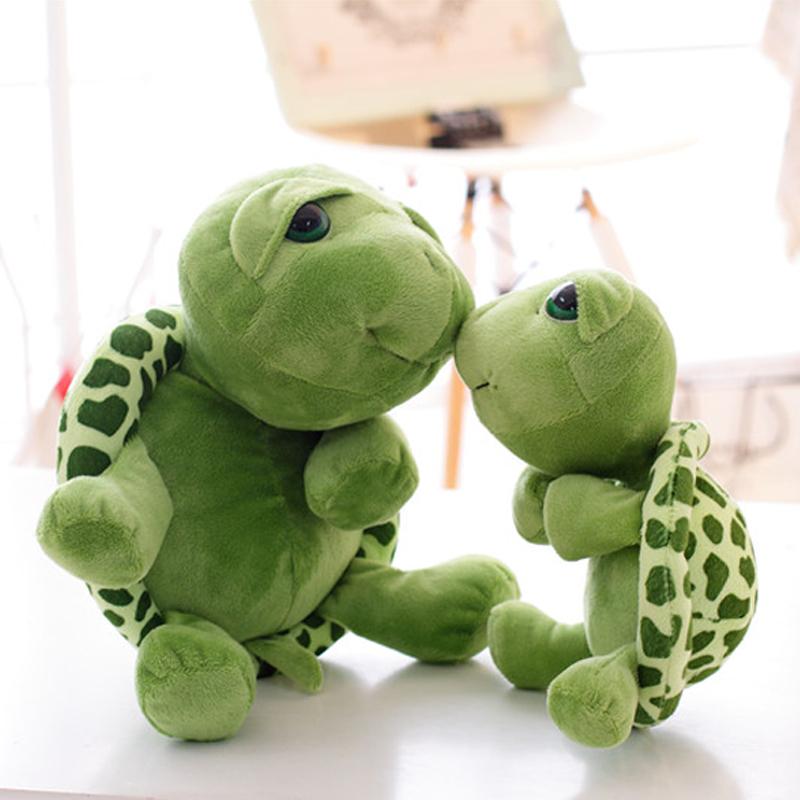 New Soft Turtle Plush Toys Baby&Kids Kawaii Carton Stuffed&Plush Animals Toys for Children Christmas Gift Tortoise Brinquedos(China (Mainland))