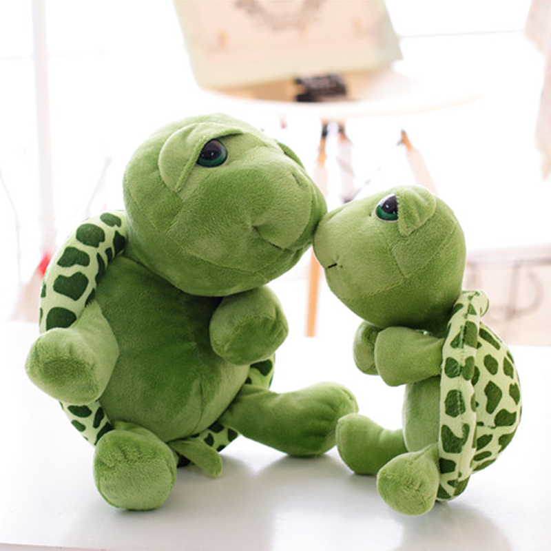 New Soft Turtle Plush Toys Baby&Kids Kawaii Carton Stuffed&Plush Animals Toys for Children Christmas Gift Tortoise Brinquedos(China (Mainland))