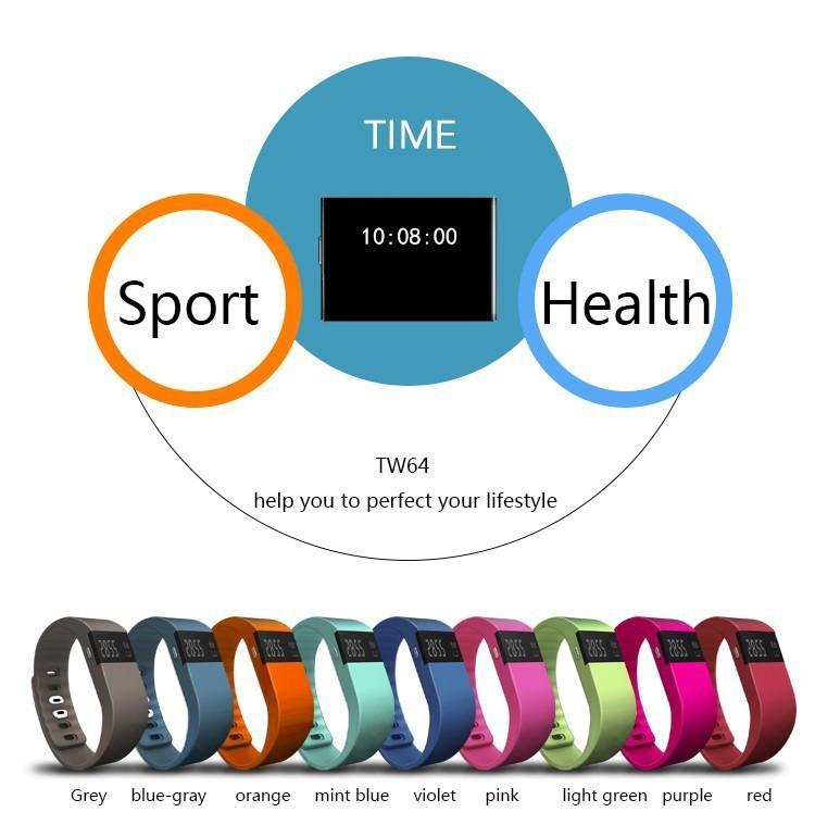 - HTB1dkhVLXXXXXbcXXXXq6xXFXXXH - Newest TW64 Fitness Tracker Bluetooth Smartband Sport Bracelet Smart Band Wristband Pedometer For iPhone IOS Android PK Fitbit