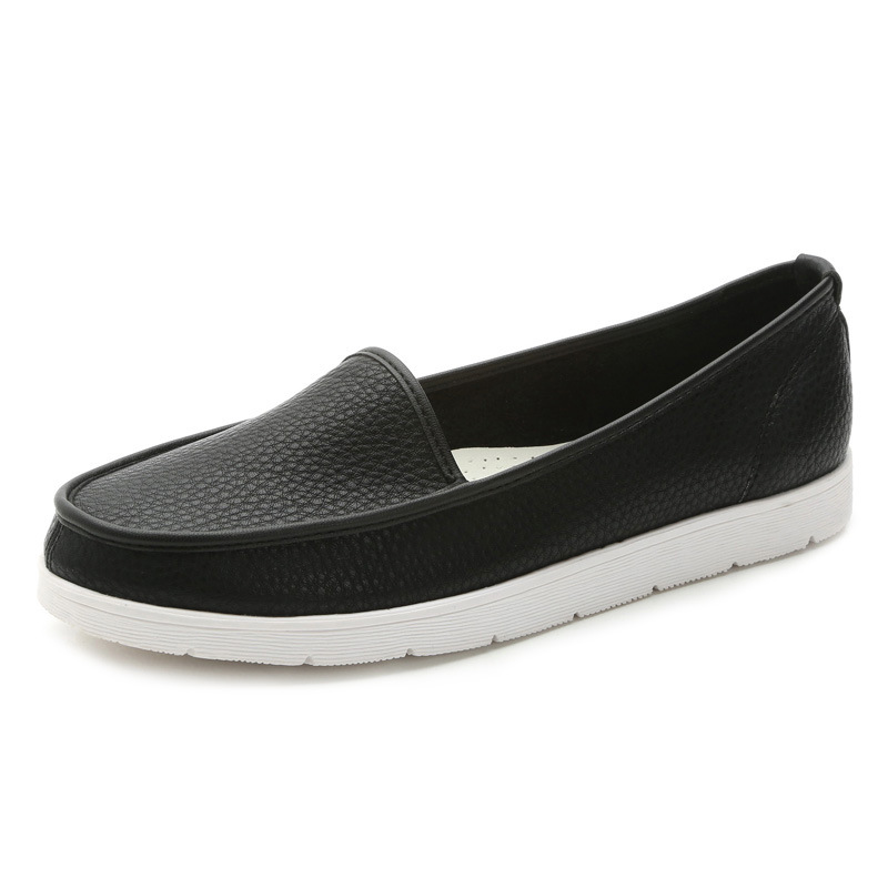 women flats shoes woman moccasins genuine leather slip on shoes for women loafers casual flat walking shoes 2016 spring DT270