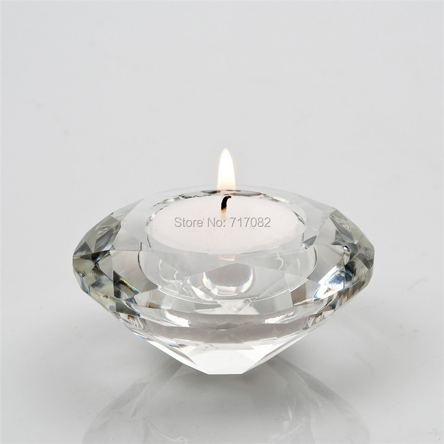 Free Shipping Crystal Candle Holder Tealight Candle