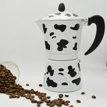 Новое поступление бесплатная доставка 9 чашки (чашек) счетный творческий Alumnium эспрессо мока-кофеварка