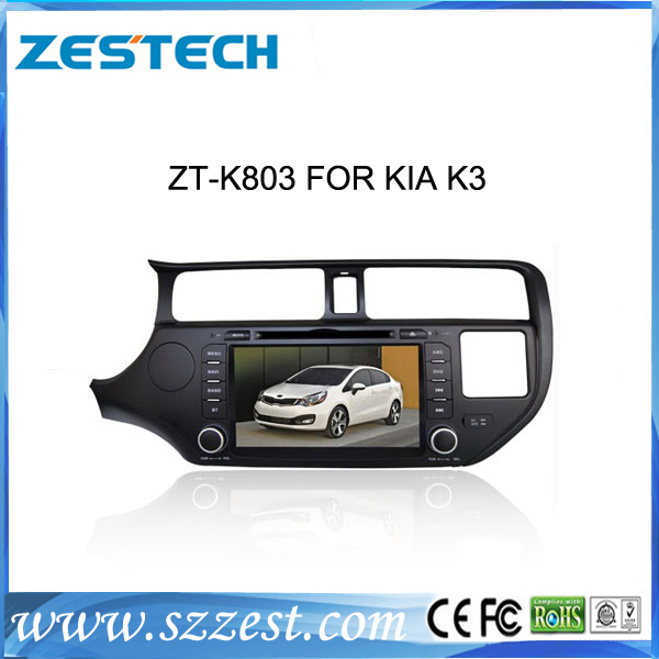 ZESTECH China supplier 3g gps car dvd for KIA K3 2 din car dvd gps with touch screen(China (Mainland))