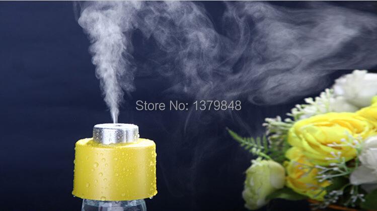 Korean Style Lovely Humidifier Home Car Bottle Cap Cover USB Humidifier Mini Air Purifier(China (Mainland))
