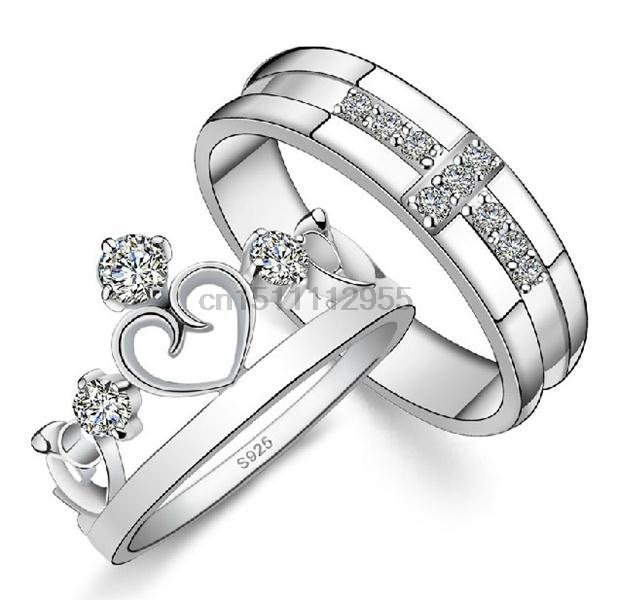 White 18k Gold Plated High Taste Luxury Lovers Ring Noble Shining Crystals Nice Jewelry Fashion Hot Gift & Party Rings J412(China (Mainland))