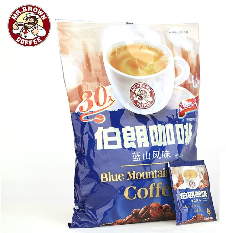 Blue Mountain flavor instant triple imported instant coffee 450g free shipping