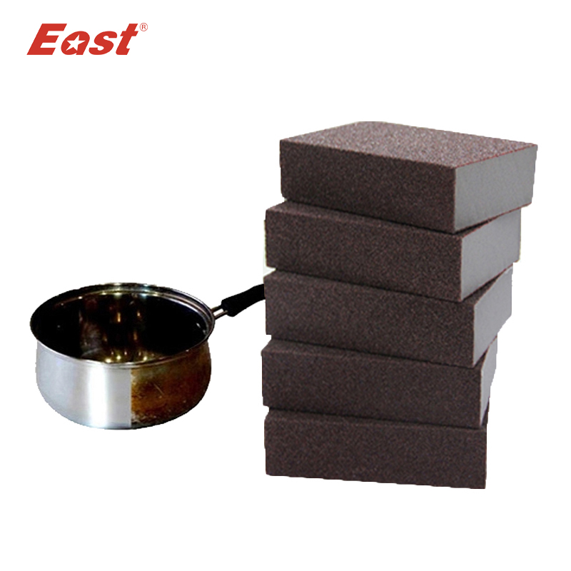 EAST Emery Magic Sponge Eraser Cleaner multi-functional high-efficiency for Household Cleaning tools with Black 8pcs/lot(China (Mainland))