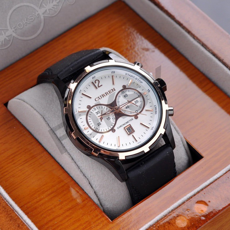 LUXURY Curren Brand Quartz gold Watches Deluxe Men leather watches women Wristwatches Christmas Gifts men wristwatches hot 0662(China (Mainland))