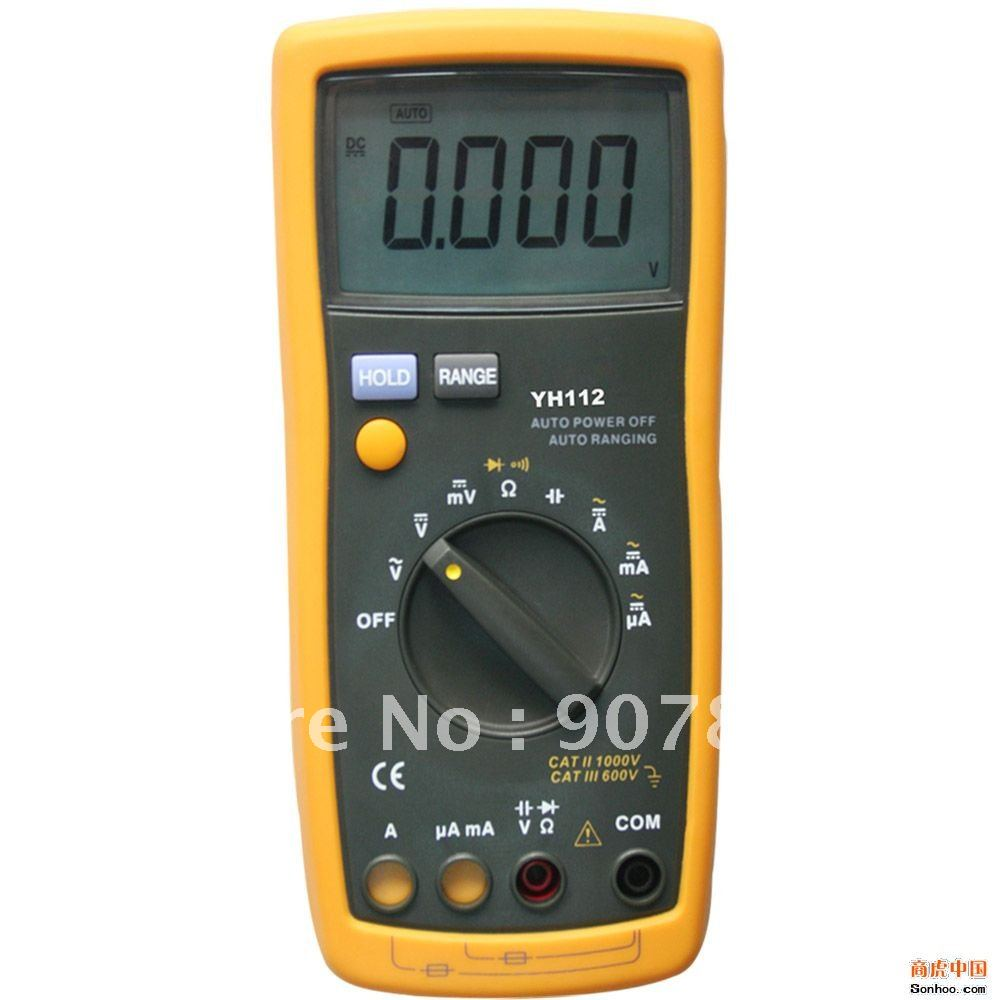 All New 4000 Counts+SMT injection+Innovative Digital Multimeter YH112 Equilavent to Fluke 15B DMMs(China (Mainland))