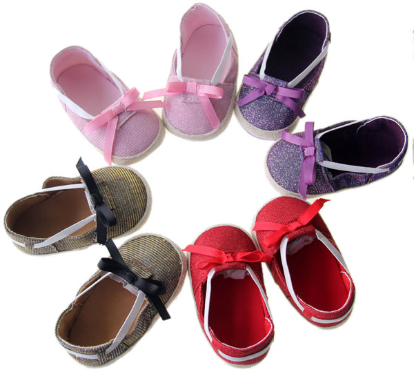 Factory Direct 4 Colour For Choose Baby Girls Shoes First Walkers Toddler Shoes Age 0-18 month(China (Mainland))