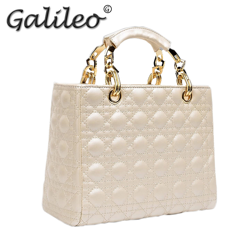 Гаджет  Brand design Classic lattice pattern Lady handbag Fashion women leather handbag shoulder messenger crossbody bags Functionbag None Камера и Сумки
